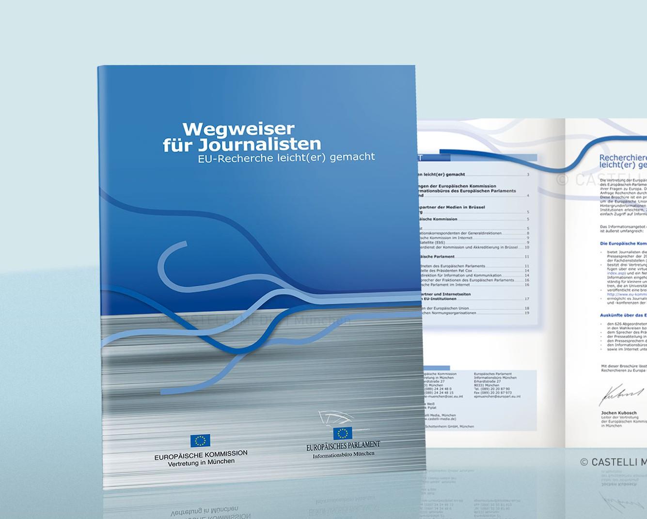 Broschüre der Europäisches Parlament - Informationsbüro München