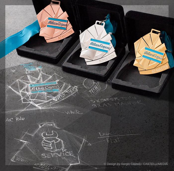 Produktdesign und Design von Medaillen