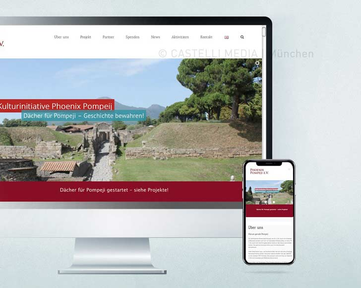 Webseite-Wordpress-Pompeji