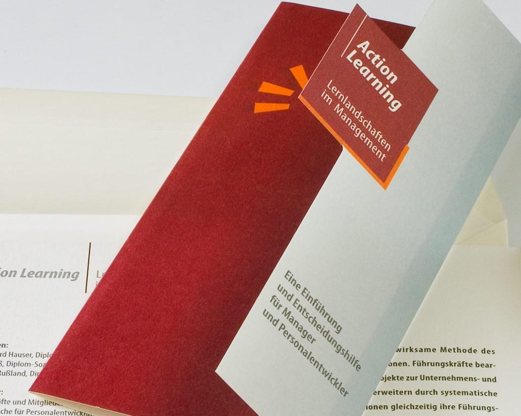 Flyer-Design EInladung Design für Hauser Consulting
