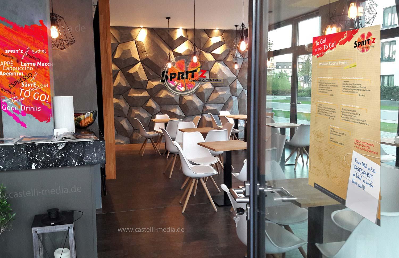 Gastronomiedesign Corporate Design Logodesign Flyer Plakate Speisekarte Eiskarte