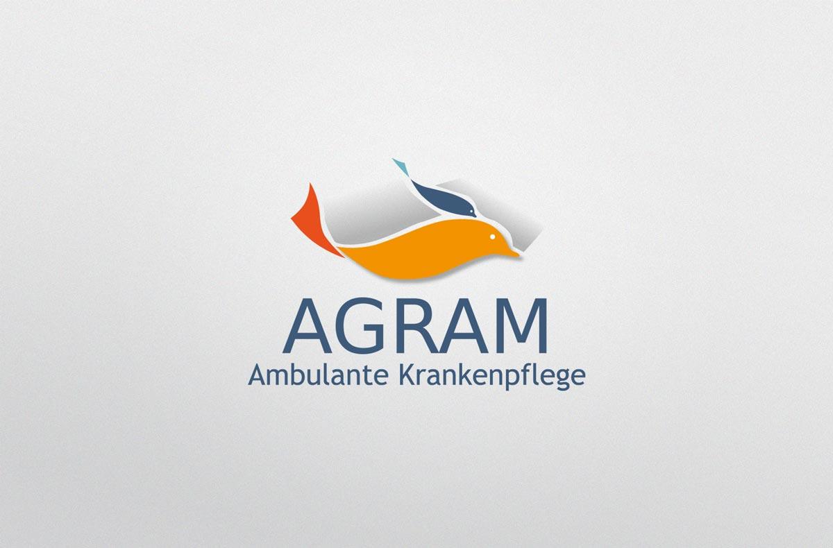 Agram pflegedienst Corporatedesign